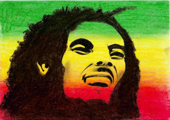 Bob Marley by sun-smiley